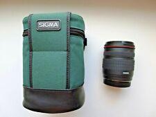 SIGMA HYPERZOOM Macro 28-200mm f/3.5-5.6 Lens CANON/NIKON vintage Retro case