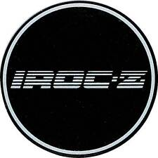 "1988 Camaro 15"" IROC-Z Silver Wheel Center Cap Medallion, Single 10087758"