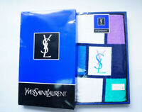 Yves Saint Laurent YSL Towel Gift Box 100% Cotton Japan made - D59