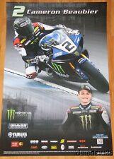 2014 Cameron Beaubier Graves Motorsports Yamaha R1 Superbike AMA poster