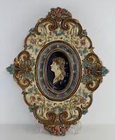 AntiqueAustrian Plate Tray Wilhelm Schiller & Son #9041 Renaissance C.1900