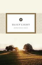 ESV Daily Light Devotional Bible (2016, Hardcover)