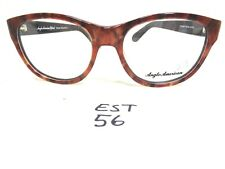 New ANGLO AMERICAN Optical Eyeglass Frame Round Tifany CRRB (EST-56)