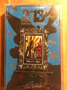 Disney Parks 2013 Easel PIN Believe in Magic Walt Disney and Mickey Mouse