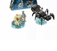 The Lord of The Rings Gollum + Shelob The Great Fun Pack 71218 Lego Dimensions !