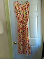 CHAUS 12 Floral dress NEW no tag FITS size 14 / 16