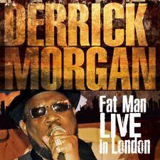 Derrick Morgan(CD/DVD Album)Fat Man Live In London-Secret-SECDP178-EU-2018-New