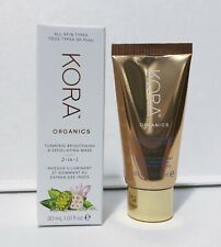 Kora Organics Turmeric Brightening & Exfoliating Mask 30ml Travel Size