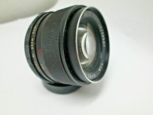Auto Mamiya/Sekor 55mm F1.4 M42 Screw Mount  Camera Lens