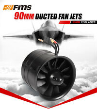 FMS 90mm 12 Blades Pro Ducted Fan Unit EDF With 3546-KV1900 Motor 6S FMSDF002
