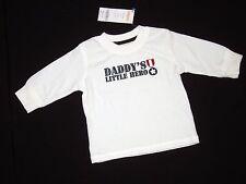 NWT Gymboree Boys 6 12 months Aviator School Daddy's Little Hero Ivory Shirt Top