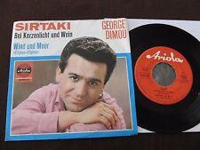 "7"" single George Dimou SIRTAKI a lume di candela e vino GERMANY 1966   m-to EX"