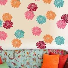 Sunshine Dahlias 2-Piece Floral Stencil Kit - EXTRA SMALL - DIY Home Decor!