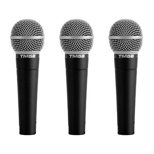 Superlux TM58 Dynamic Vocal Microphone - 3 Pack - New