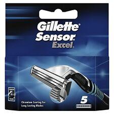 Gillette Sensor Excel Razor Blades - 5 Cartridges