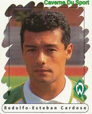 013 RODOLFO CARDOSO ARGENTINA WERDER BREMEN STICKER FUSSBALL 1996 PANINI