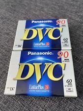 PANASONIC DVC 90 MIN DIGITAL 2 VIDEO CASSETTE/TAPES. SEALED.
