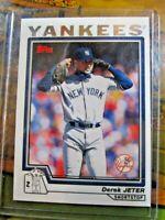 2004 Topps Derek Jeter New York Yankees #20 Baseball Card~