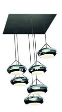 Lámpara Colgante LED regulable Anillo Sompex Aura de comedor