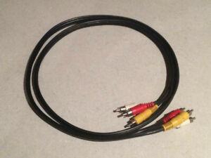 EC. 1.5m Composite RCA/AV cable - (75 Ohm) - (USED)