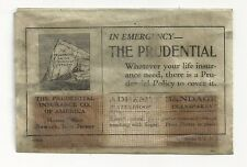 1940's The Prudential Insurance Co. Emergency Bandage