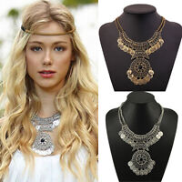 Charm Women Necklace Costume Jewellery Lady Chunky Statement Bib Necklace ST