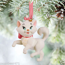 Disney Parks The Aristocats Marie 3D Holiday Ornament NEW w/ Tag