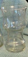 Vintage Pyrex The Uncandle Floating Candle Holders Set 2 Glasses Corning Ware.