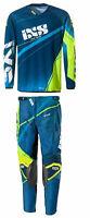 Offroad Gear Jersey Pants Combo IXS   ATV Dirtbike MX Motocross Blue - Yellow