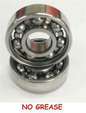 :::LOT OF 100 OPEN DEGREASED  Fidget Spinner Bearings 608 STEEL FASEST SPIN TIME