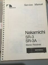 Nakamichi Service Manual for the 660ZX Cassette Tape Deck ~ Repair Provisional
