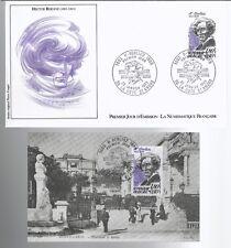 1983 - FDC + CP 1°JOUR**H.BERLIOZ-COMPOSITEUR**TIMBRE Yt. 2281