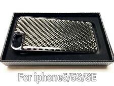 Black Real Carbon Fiber Case For i phone 5 5S SE neon srt4 srt8 camaro