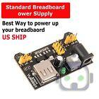 Breadboard Power Supply Module 3.3V / 5V For MB-102 & Solderless Breadboards US
