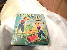 Farm ABC, Tell-a-Tales book, by Patricia Lynn, illus. by Gladys Turley Michell