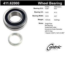 Axle Shaft Bearing-Premium Bearings Rear Centric 411.62000