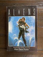 Aliens Alan Dean Foster Bce Hardcover Book Club Sci-fi Movie Novelization