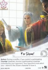 Legend Of The Five Rings L5R - Alt Art - For Shame
