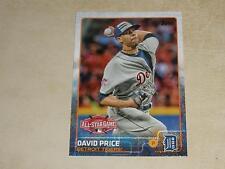 David Price Detroit Tigers Original Single Baseball Cards