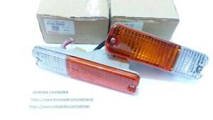 DAIHATSU F70 ROCKY FEROZA FOURTRAK TURN SIGNAL LAMP ASSY FRONT BUMPER Original