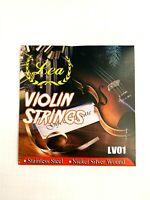 Thomastik Vision TITANIUM SOLO 4//4 Geige Saiten SATZ 4//4 Violin Strings SET