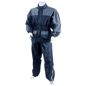 Two Piece Motorcycle Rain Suit