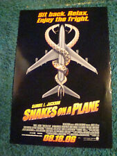 SNAKES ON A PLANE - MOVIE POSTER - ADVANCE