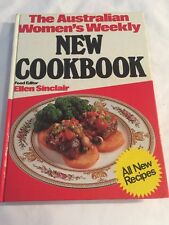 The Australian Womens Weekly NEW COOKBOOK vintage Recipe Book Hc