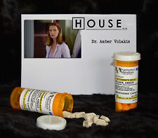 TV SERIES HOUSE MD EXACT REPLICA PROP AMBER VOLAKIS AMANTADINE BOTTLE