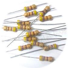 100pcs 470 Ohm for 12v led 1/4W 5% Carbon Film Resistors RoHS