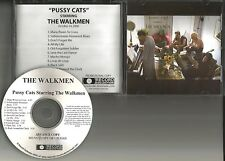 THE WALKMEN Pussy Cats HARRY NILSSON TRX ADVNCE PROMO DJ CD BOB DYLAN TRK 2006