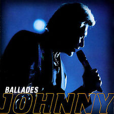 Johnny Hallyday BALLADES (Mercury) 1999 2CD compilation--great shape!