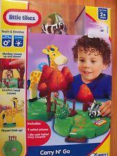 Little Tikes Carry N Go Safari Play set NIP Ages 2+