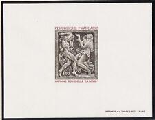 épreuve de luxe timbre France  tableau    Bourdelle  la dance  1968 num: 1569